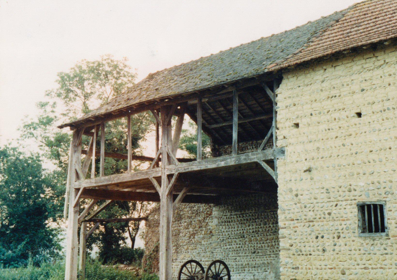 Vue 1 Bâtiment existant avant projet - 4 logements (65)