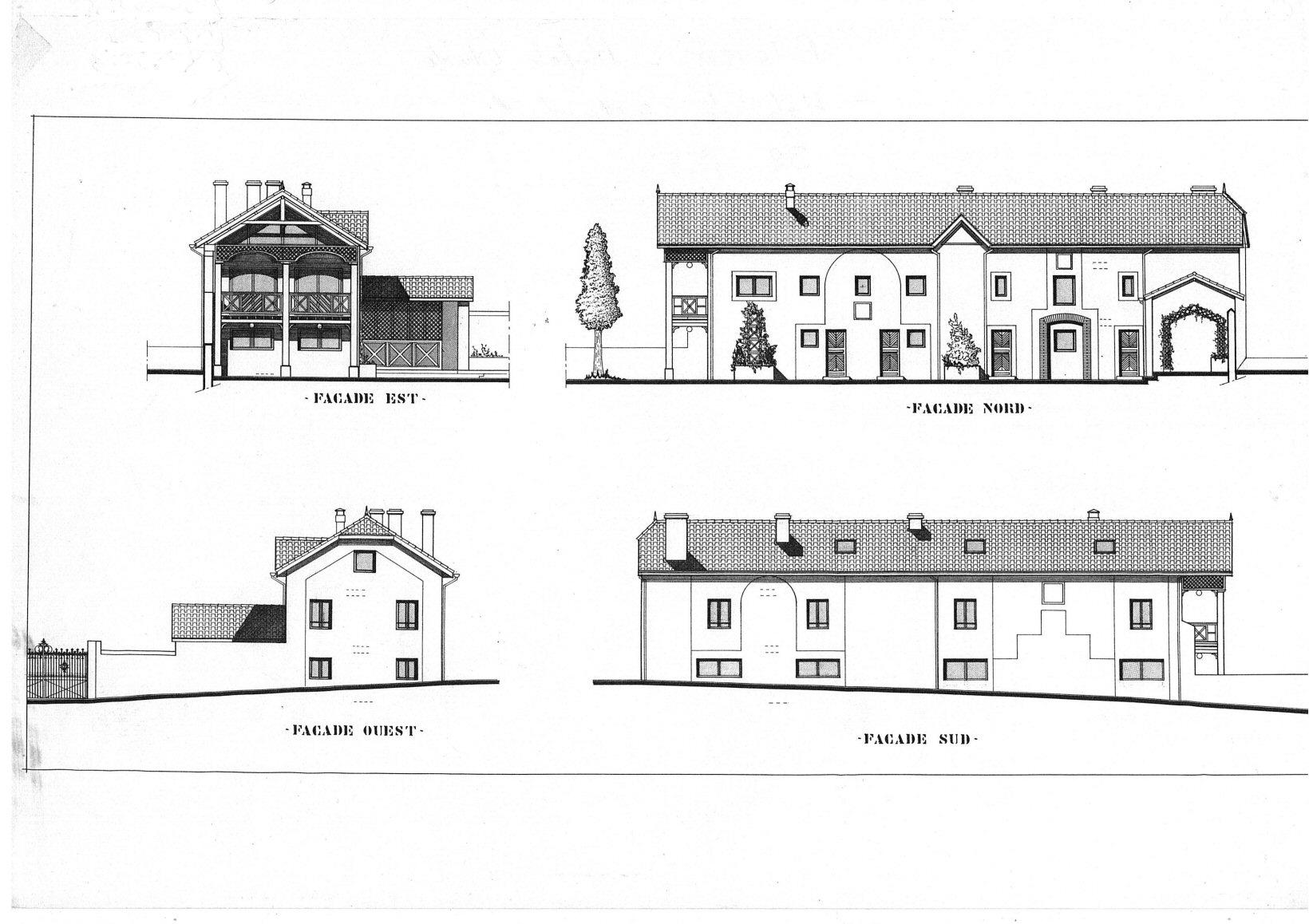Projet de 4 logements dans le 65 - Architecte Jean-Marc Ritondo