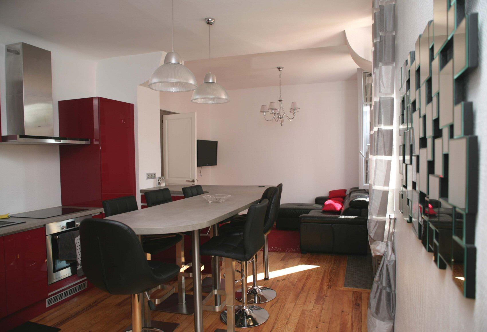 Cabinet architecte Ritondo Pau : Décoration et aménagements d4un appartement à Biarritz - 64