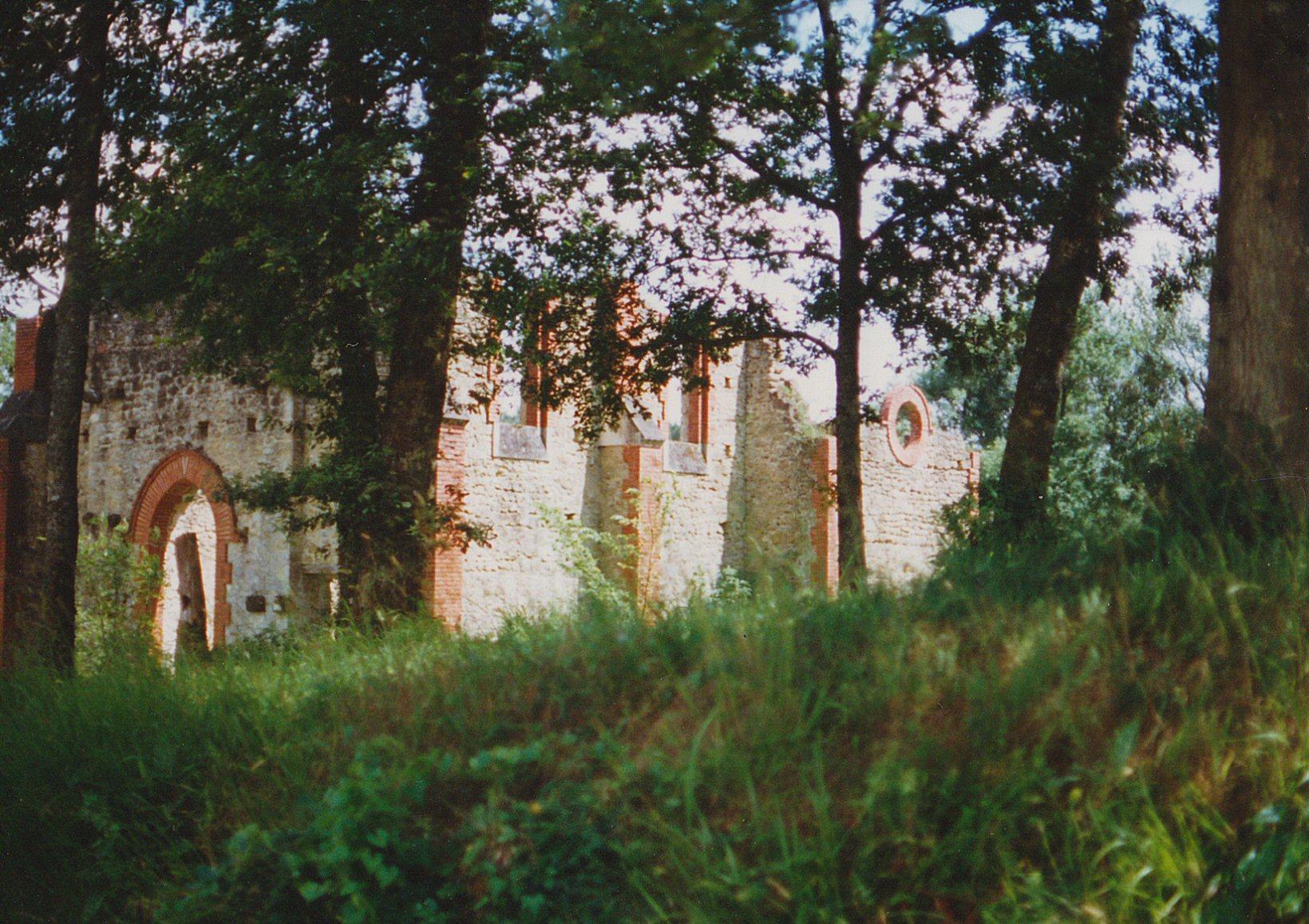 état des lieux vue extérieure 1 Bâtisse pour Séminaire (32) - Architecte Jean-Marc Ritondo