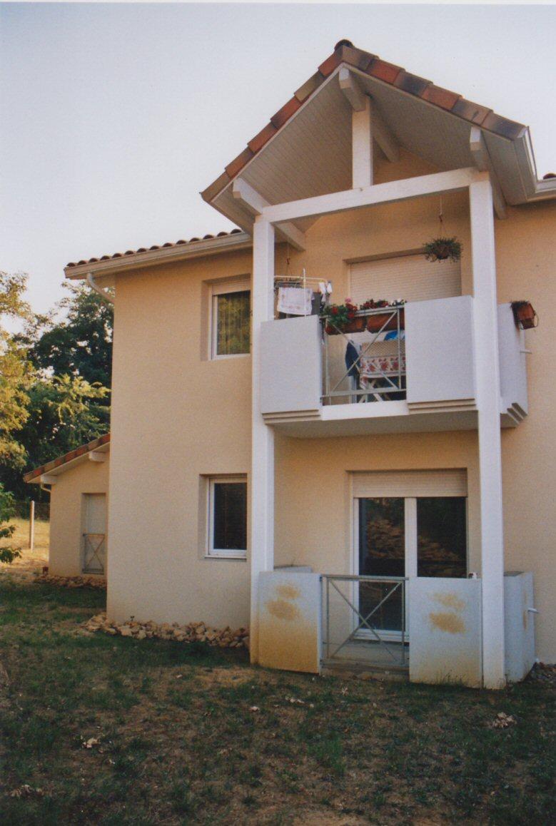 Détails balcon logements collectifs à Mont de Marsan (40) - Architecte Jean-Marc Ritondo