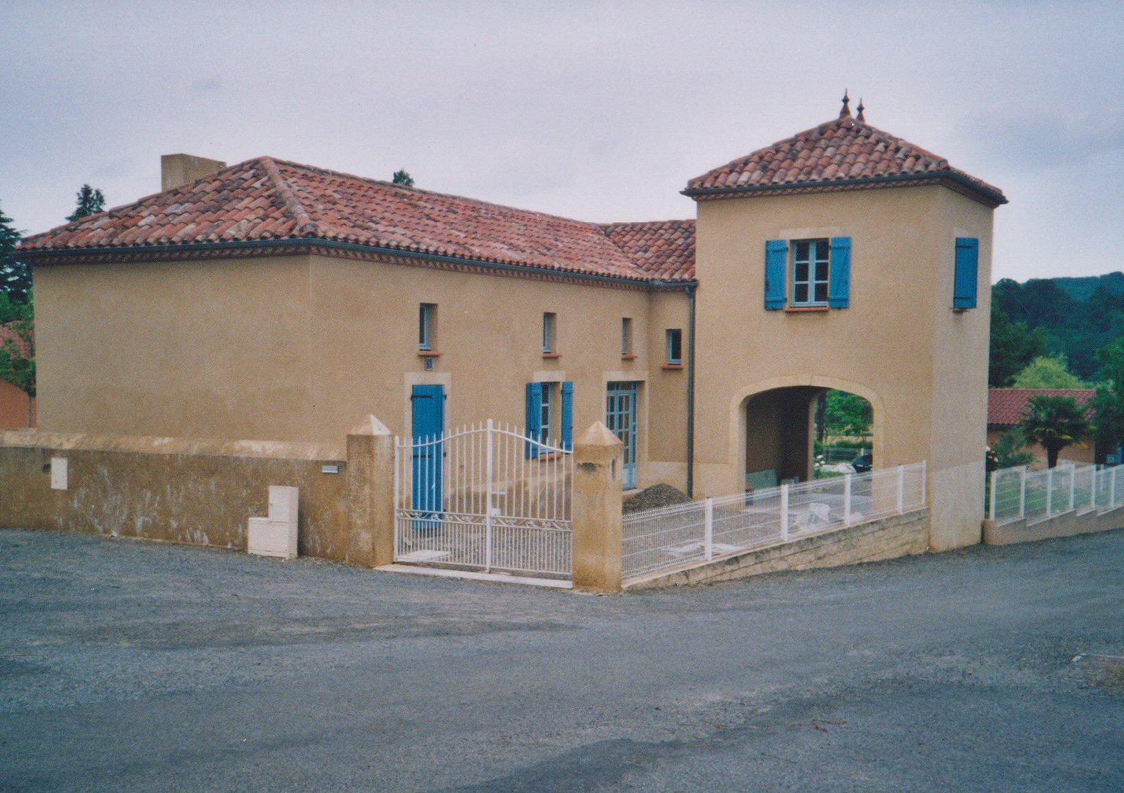 Après rénovation et extension d'une maison individuelle - Architecte Ritondo Pau 64
