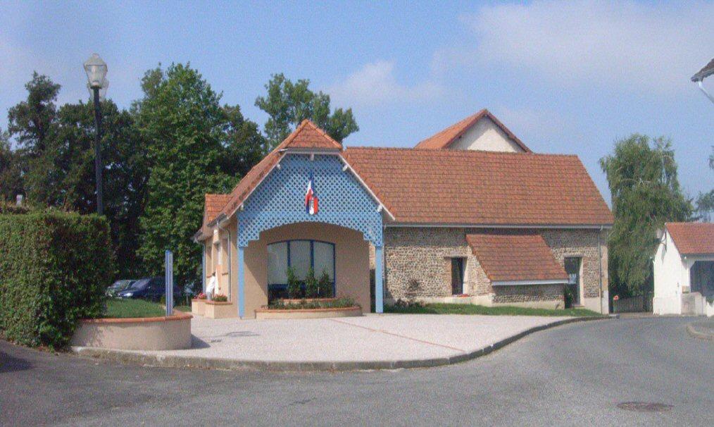 Vue 1 après travaux d'extension Mairie de Momas (64) - Architecte Jean Marc Ritondo