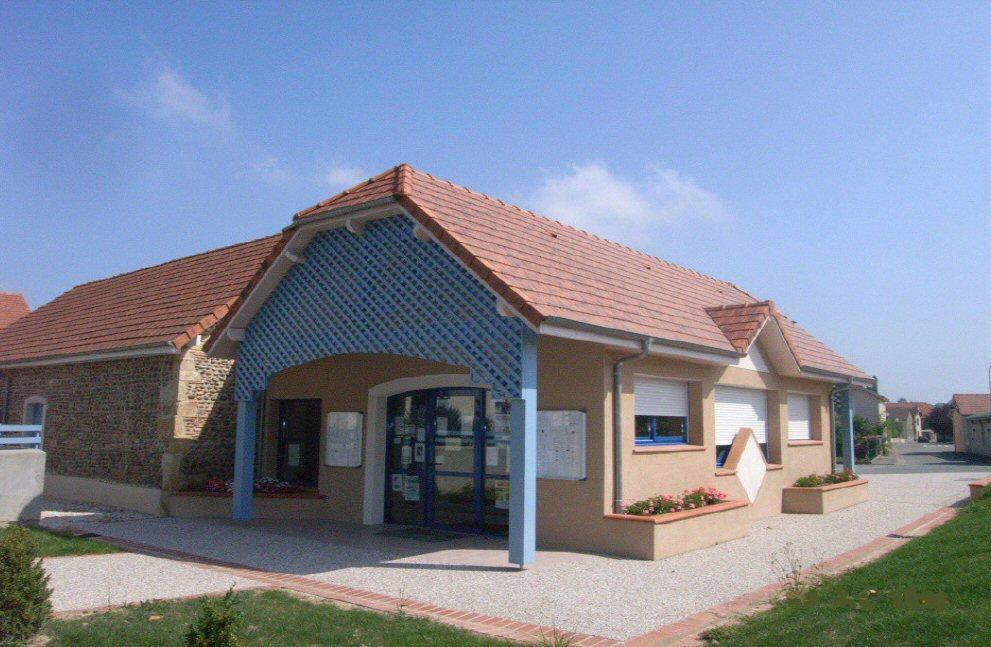 Vue 2 après travaux d'extension Mairie de Momas (64) - Architecte Jean Marc Ritondo