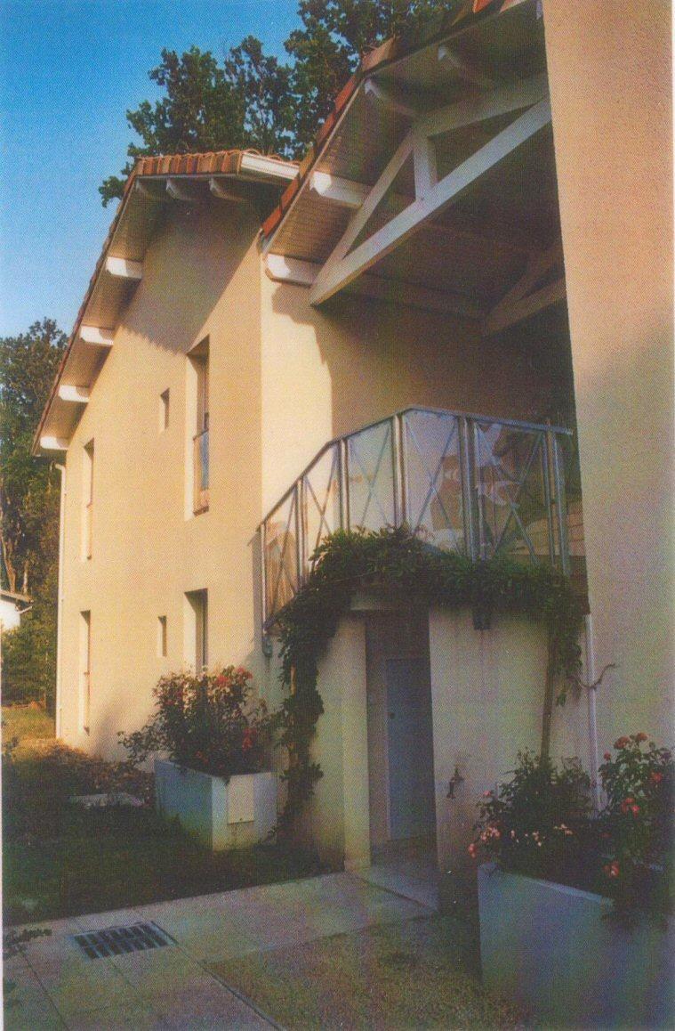 Détail architectural balcon logements à Mont de Marsan - Architecte Jean-Marc Ritondo