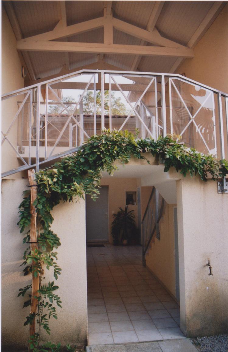 Vue 1 des parties communes logements à Mont de Marsan - Architecte Jean-Marc Ritondo