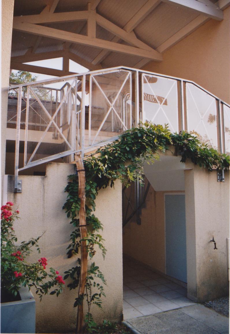 Vue 2 des parties communes logements à Mont de Marsan - Architecte Jean-Marc Ritondo